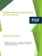 Realidad Nacional y Geopolítica Del Territorio Peruano