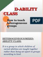 Majz4-Mixed Ability Class