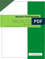 Parkhurstvillage_RFP_SafeParks Complete RFP 14.11.14