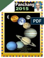 KP Panchanga 2015