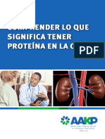 Proteinuria Brochure 2015 Spanish