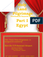 Part I Holy Land Pilgrimage Egypt.pptx