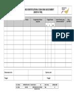 1007a. Lampiran HAZID&TRA - Blank Form