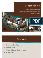 Irving Budget Update 2010-05-12