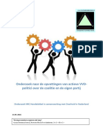 Onderzoek onder VVD'ers