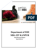 Mba Placement 2016