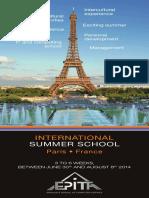 Epita Summer School Brochure