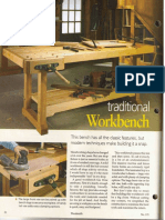 WS 173. Traditional Workbench Plan
