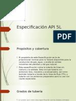 Especificación API 5L
