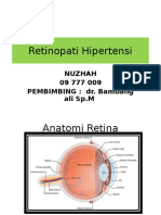 Nuzhah Refarat Retinopati Hipertensi