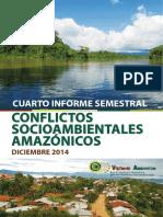 Cuarto Informe Semestral de Conflictos Socioambientales Amaznicos