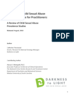 Darkness to Light 1 in 10 CSA Prevalence Rate White Paper