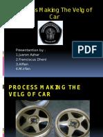 Process Making of Car Velg