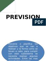 Organizacion y Prevision de Empresa Industria