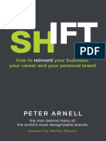 Shift by Peter Arnell Excerpt