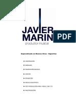 Cv Javier Marin 2016