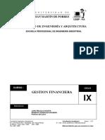 Gestion_Financiera 1ra Parte