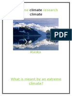 Extreme Climate Research Climate