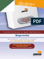 Catalogo Calentadores Supreme