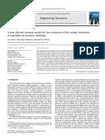 A Model of URM for Seismic Evaluation With Diagonals_ok Ok Ok