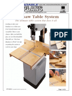 Bandsaw Table System