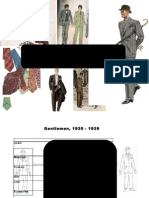1930-39 menswear fashion