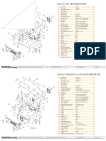 Parts Lists and Final Assembly Drawings