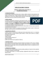 ESPECIFICACIONES TECNICAS ESTRUCTURAL