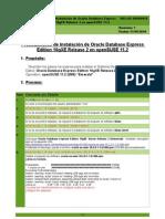 SW-LNX-00000010 - Procedimiento de Instalacion de Oracle Database Express Edition 10gXE Release 2 en OpenSUSE 11_2