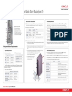 Oracle PCA 2.1 QuickStart Poster E60767-E60768