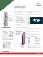 Oracle PCA 2.1 QuickStart Poster E60767-E60768
