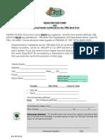 Tiffin Bark Park Registration Form 2016