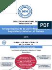 1. Interpretación de La Ley y Reglamento de SST - DINI