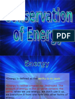 conservation of energy powerpoint
