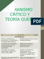 Humanismo Crítico y Teoría Queer