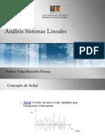 Análisis Sistemas Lineales Presentación 1