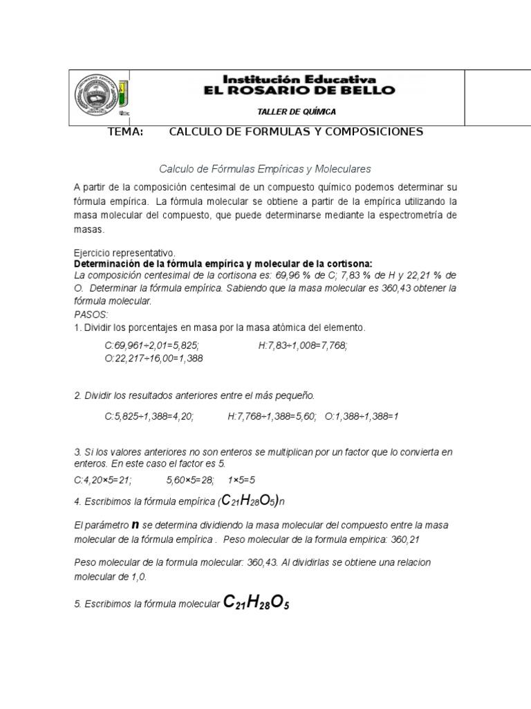 2-CALCULO DE FORMULAS Y COMPOSICIONES (3) abril.doc