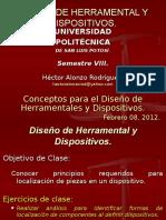 3 Presentación - DHyD VIII - Conceptos Para Diseño de Htales y Dispositivos