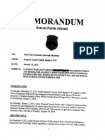 Redacted DPS Police Department Citizen Complaint Investigation