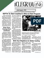 Cyclegram July/August 1991