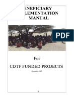 Beneficiaries Implementation Manual Final