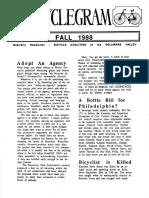 Cyclegram Fall 1988
