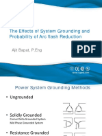 The Effects of System Grounding & Probability of Arc Flash Reduction - I-Gard - Ajit Bapat - October 27 2014
