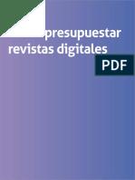 eBook Presupuestar Revistas Digitales
