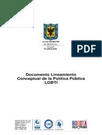 Documento Conceptual de La Politica Publica Lgbti