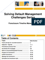Freddie Mac Foreclosure Fraud Timeline Management