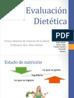 Evaluación dietética