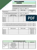 Formatos de Evaluacion de Maquinarias