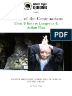 8 Secrets of Centarians Keys to Longevity