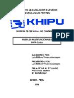 Khipu Sofa Cama